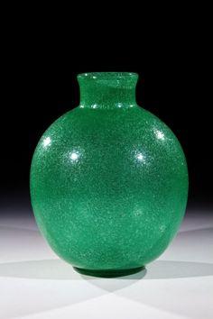 Vase ''A Bollicine'' Carlo Scarpa, Venini, Murano, 1932-36.