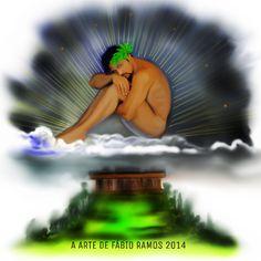 Apollo deus da beleza , a arte de Fábio Ramos 2014.