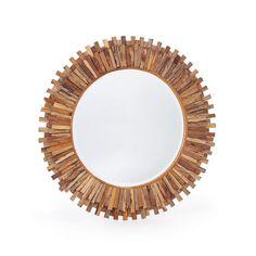 "Eclipse Home Collection Sunshine Mirror 36"" Dia."