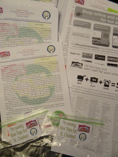 Letter to school familes re-caping the events of the 2012-2013 school year and encouraging the to save their box tops over the summer.  It was sent home at the end of the school year along with a list of participating box tops items, informtion about earing E-Box tops by shoping via the Box Tops Marketplace and a zip loc collection bag with an Avery label that they can hand on the fridge to let everyone know that they are saving their box tops for St. Charles.