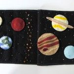 Solar System Quiet Book Page...made this one...turned out darling, but I added Pluto!!