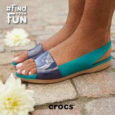8d30c1c96 Colour Block Flats - Now Available at Crocs Stores Across the UAE.