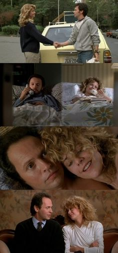 When Harry Met Sally in 4 stills.