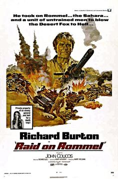 Raid on Rommel is an American B movie from 1971, directed by Henry Hathaway and…