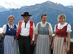 switzerland traditional clothing - Google Search