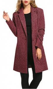 Zeagoo Women Lapel Long Trench Coat Wool Blended Jacket Cardigan - best woman's fashion products designed to provide Trench Coats Women Long, Long Trench Coat, Coats For Women, Jackets For Women, Women's Jackets, Wool Overcoat, Wrap Coat, Women's Coats, Wool Coats
