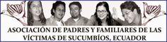 Mensaje de Año Nuevo 2015: Asociación se Padres y Familiares de las Víctimas de Sucumbíos, Ecuador