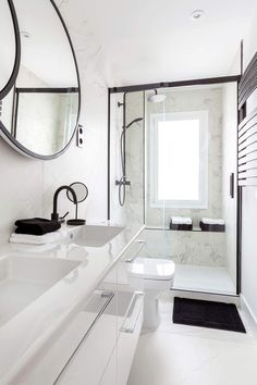 Small Bathroom Renovations, New Bathroom Designs, Ensuite Bathrooms, Bathroom Design Luxury, Bathroom Design Small, White Bathroom Tiles, Bathroom Layout, Modern Bathroom, Small Toilet Design