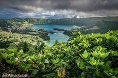 Lagoa das 7cidades, São Miguel, Açores.. Portugal