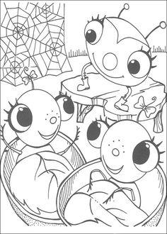 Dibujos Para Colorear Miss Spider 19