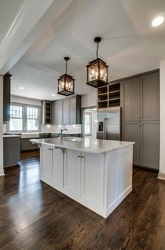 2016 Paint Color Ideas For Your Home River Reflections By Benjamin Moore The Kingston Kitchen Cabinet Paintgrey
