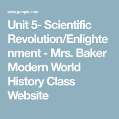 Class powerpoints ap world history with ms cona ap world unit 5 scientific revolutionenlightenment mrs baker modern world history class website gumiabroncs Choice Image