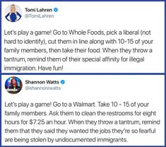 And then remind them they're against minimum wage raises. And if they get sick from the lack of chemical safety when it comes to cleaning products, remind them of their opposition to free healthcare