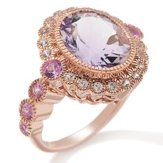 Antique rose gold wedding ring - Would look fab with a glass of Sutter Home Pink Moscato in hand!