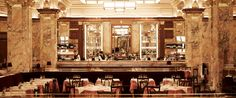 "A grand Parisian brasserie transported to the heart of London, serving remarkable value, traditional French food in a historic  Beaux Arts/Art Deco interior. ""The only real brasserie in London"" @pierrekoffmann"
