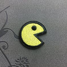 Pac man Patch Ghost Cartoon Embroidered Iron on Patch Sew on patch Cartoon game patch