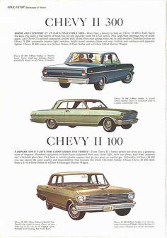 1963 Chevy IIs
