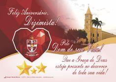 Cartão do Dizimista aniversariante Natalício - Florânia-RN (A pedido do Pe. Janilson)