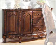 Traditional Sideboard In Warm Cherry MCFRD101 SB