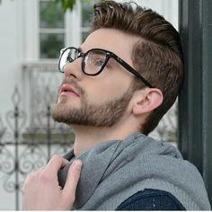 Mens Hairstyles With Beard, Boy Hairstyles, Hair And Beard Styles, Hair Styles, Men's Hairstyle, Beard Haircut, Fade Haircut, Cool Haircuts, Haircuts For Men
