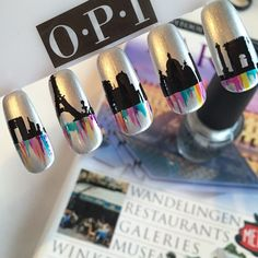 """Dreaming of Paris ❤️ #kannietwachten #opi #opinl #notd #nailart #handpainted #nailartclub #nailpolish #nailstagram #nailswag #nagellak #paris #parisnailart"" Photo taken by @opi_am_suus on Instagram, pinned via the InstaPin iOS App! http://www.instapinapp.com (06/01/2015)"