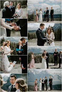Banff elopement <br> Amber and Denis' Tunnel Mountain Elopement in Banff was beautiful and so special. There's just something about elopements – it's so calming, there are no distractions, everything is in the moment. Green Wedding Suit, Wedding Suits, Summer Wedding, Wedding Day, Banff, Lace Wedding Dress, Wedding Dresses, Mountain Elopement, Wedding Ceremony