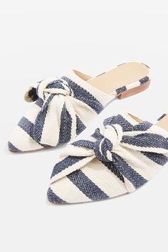 aea90caa70 ADELE Bow Slip On Shoes