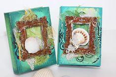 Pentart dekor: Könyvdoboz a nyári emlékeknek