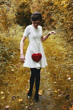Bolso corazón