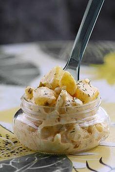 Salade de pommes de terre à la moutarde