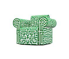 labyrinth chair von moooi | Loungesessel