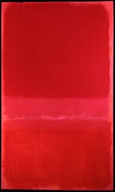 Mark Rothko. Untitled. Oil on canvas.