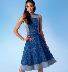 McCall's Sewing Pattern Misses' Princess Seam Top, Dress and Skirt Mccalls Sewing Patterns, Dress Patterns, Bridesmaid Dresses, Prom Dresses, Formal Dresses, Lace Dresses, Southern Belle Dress, Panel Dress, Princess Seam