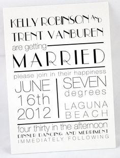 Wedding Invitation Retro Art Deco by JessicaLamDesigns on Etsy, $100.00
