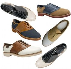 Top 15 Most Common Trends & Fads in 1950's ... Saddle shoes were among the hottest trends at that time. They appeared with low heels, plain toes and were decorated through using panels that take the shape of saddles. └▶ └▶ http://www.pouted.com/?p=36288