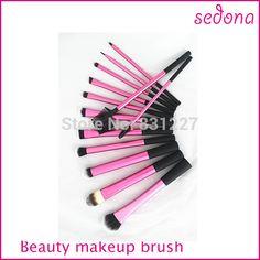 13 pcs rose Super doux Taklon cheveux maquillage brosse professionnelle de base Kit dans Brosses et instruments de maquillage de Health & Beauty sur AliExpress.com   Alibaba Group