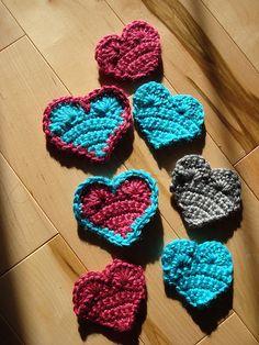 Ravelry: Simple Crochet Hearts pattern by Emily W