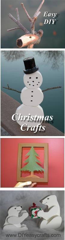 Diy christmas canvas silhouette diyeasycrafts do it easy diy christmas crafts and decorations diyeasycrafts solutioingenieria Choice Image