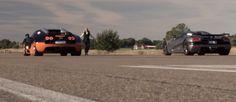 Bugatti Veyron Vitesse Drag Races Koenigsegg Agera R in 4K Footage [Video]