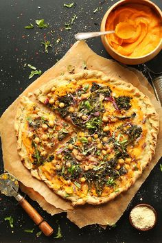 Skip the take-out with these five healthy and fresh, veggie packed pizza recipes. Let us know which one you'll be trying out first!1. Socca Pizza WithSunflower Pesto, AubergineAnd...