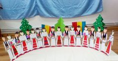 1 Decembrie, Diy And Crafts, Crafts For Kids, Crafts For Children, Kids Arts And Crafts, Kid Crafts, Craft Kids