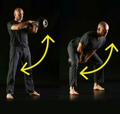"7. ""Play chicken"" with the kettlebell"