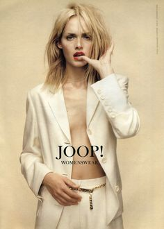 ☆ Amber Valletta | Photography by Michelangelo Di Battista | For Joop! Campaign | Spring 1996 ☆