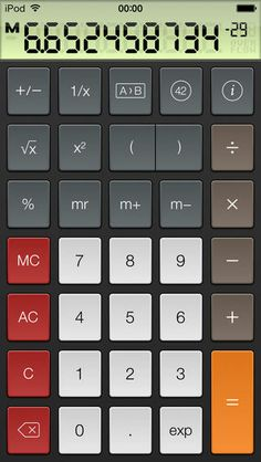 PCalc Lite - The Best Free Calculator ($0.00) PCalc Lite is a fully functional and free taste of our very popular scientific calculator. It includes an optional RPN mode, multiple undo and redo, unit conversions and constants, as well as two stylish themes and our highly praised design. A great choice for your new iPad!