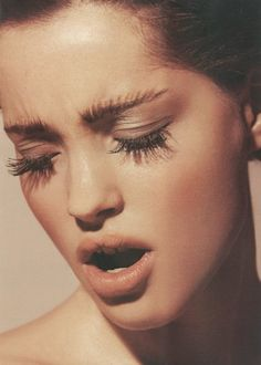 Those eyelashes.