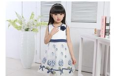 Discount Girls Dress Summer Wear Children'S Wear Children'S Princess Skirt Han Edition In The Summer Of 2015 The New Tide Cuhk Children'S Dress From China   Dhgate.Com
