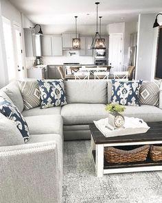 Cool 100 Modern Farmhouse Living Room Decor Ideas #farmhouse #livingroom
