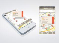 Planteaters-big-v02 Mobiles, Iphone Ui, Mobile App Design, Applications, Ui Design, Inspiration, Digital, Big, Maps
