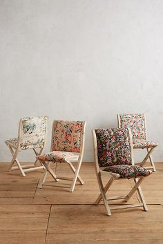 Slide View: 4: Rifle Paper Co. Terai Chair