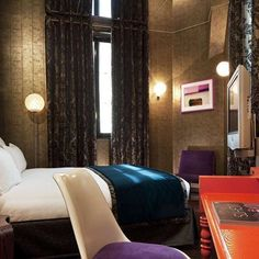 Hôtel du Petit Moulin - boutique hotel designed by Christian Lacroix that  opened early this year in the Marais district. 6e61d496472a